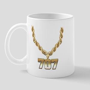 707 Gold Chain Mug
