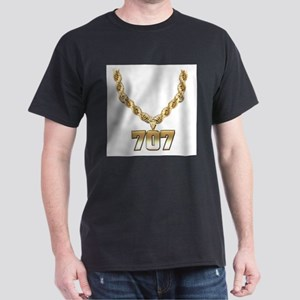 707 Gold Chain Dark T-Shirt