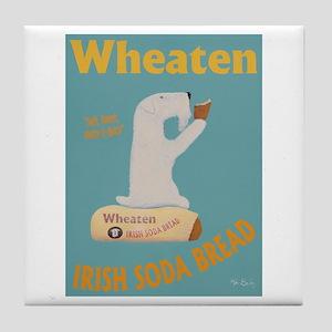 Wheaten Irish Soda Bread Tile Coaster