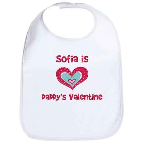 Sofia is Daddy's Valentine Bib