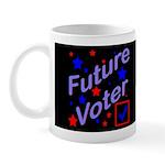 Future Voter Kids Dark Mug