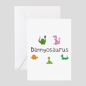 Dannyosaurus Greeting Card