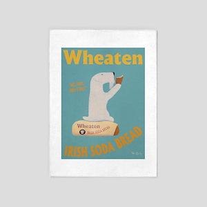 Wheaten Irish Soda Bread 5'x7'Area Rug