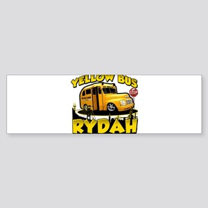 Yellow Bus Rydah Bumper Sticker
