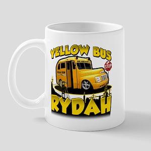 Yellow Bus Rydah Mug