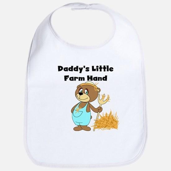 Daddy's Little Farmhand Bib