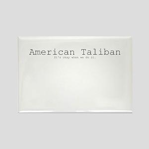 American Taliban: It's okay when we do it. Rectang