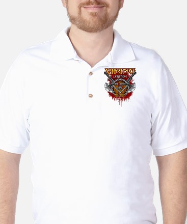 Viking Legends are Born in April Golf Shirt