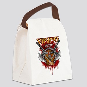 Viking Legends are Born in April Canvas Lunch Bag