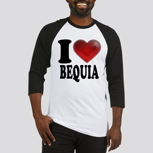 I Heart Bequia Baseball Jersey