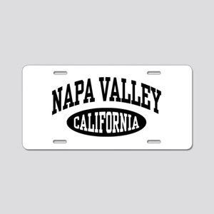 Napa Valley Aluminum License Plate