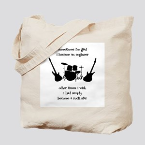 Rockstar Engineer Tote Bag