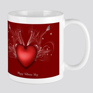 Valentine Day Card Mugs