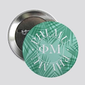"Phi Mu Leaves 2.25"" Button (10 pack)"