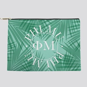 Phi Mu Leaves Makeup Bag