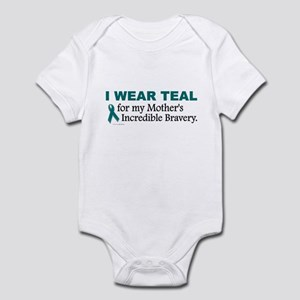 Teal For My Mother's Bravery 1 Infant Bodysuit