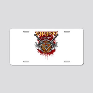 Viking Legends are Born in Aluminum License Plate