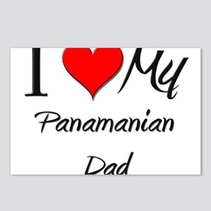 I Love My Panamanian Dad Postcards (Package of 8)