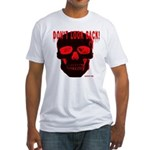 DONT LOOK BACK Fitted T-Shirt