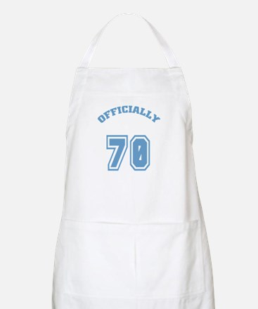 Officially 70 BBQ Apron