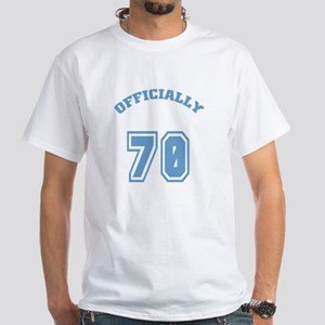 Officially 70 White T-Shirt