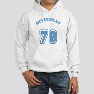 Officially 70 Hooded Sweatshirt