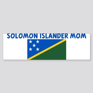 SOLOMON ISLANDER MOM Bumper Sticker