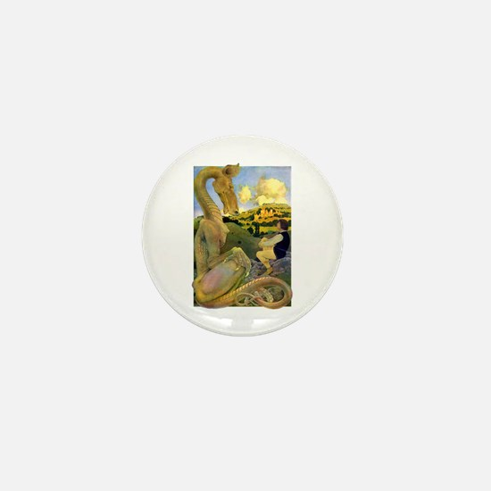 DRAGON TALES Mini Button
