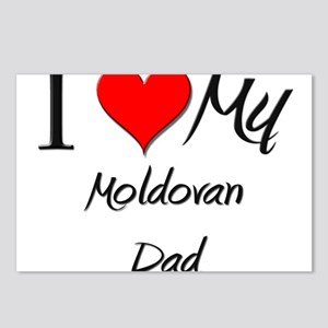 I Love My Moldovan Dad Postcards (Package of 8)