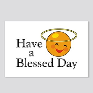 Blessed Day Postcards (Package of 8)