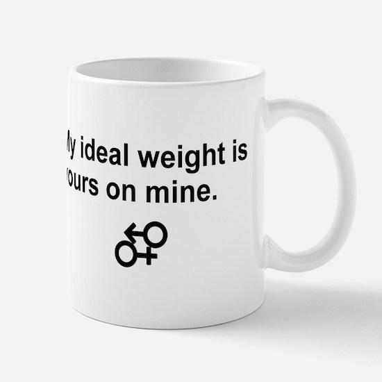 my ideal weight Mugs