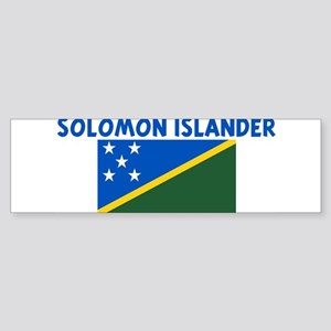 SOLOMON ISLANDER Bumper Sticker