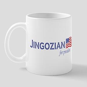 Mike Jingozian for president  Mug