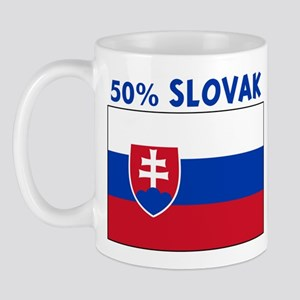 50 PERCENT SLOVAK Mug