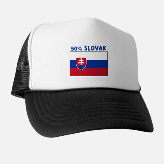 50 PERCENT SLOVAK Trucker Hat