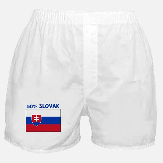 50 PERCENT SLOVAK Boxer Shorts