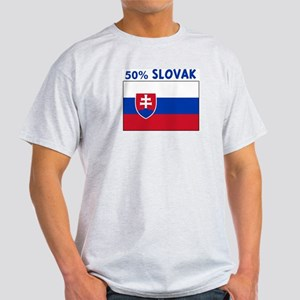 50 PERCENT SLOVAK Light T-Shirt