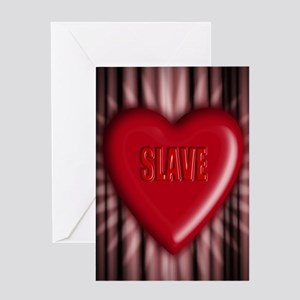 slave Greeting Card