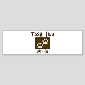 Tosa Inu Pride Bumper Sticker