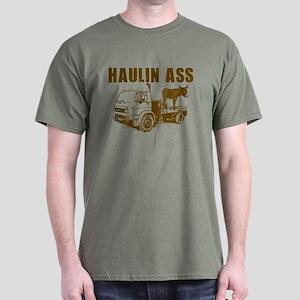 Haulin Ass - Brown Dark T-Shirt