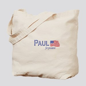 Ron Paul for president flag Tote Bag