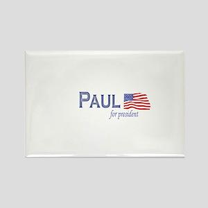 Ron Paul for president flag Rectangle Magnet