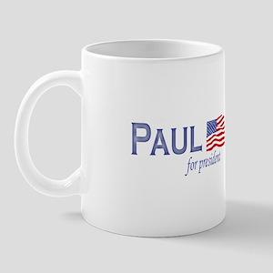 Ron Paul for president flag Mug