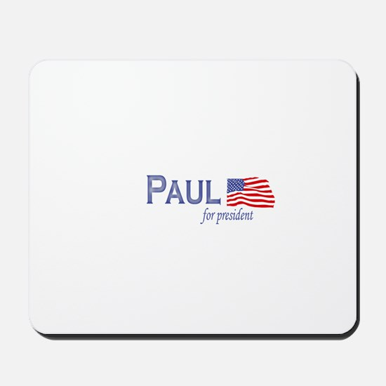 Ron Paul for president flag Mousepad