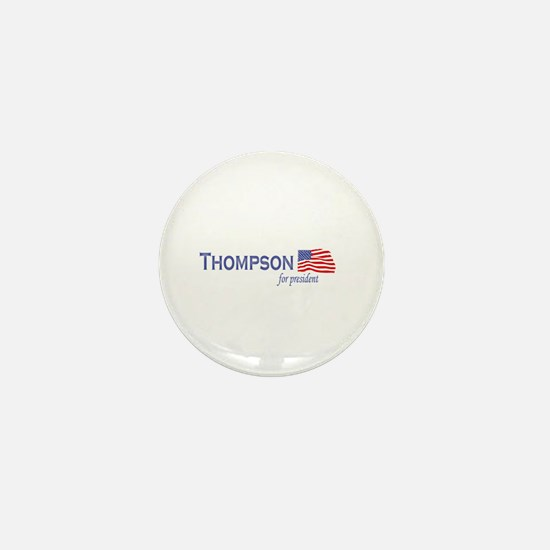 Fred Thompson for president f Mini Button