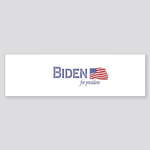 Joe Biden for president flag Bumper Sticker