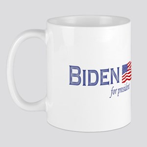 Joe Biden for president flag Mug