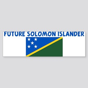 FUTURE SOLOMON ISLANDER Bumper Sticker
