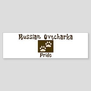 Russian Ovtcharka Pride Bumper Sticker