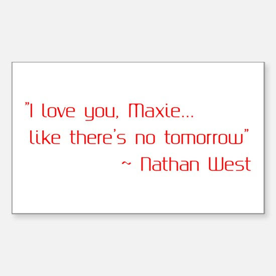 General Hospital Quote Decal